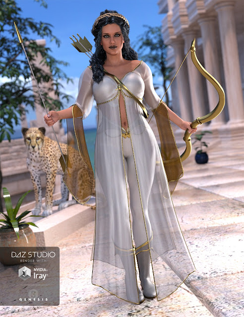 Artemis Moon for Genesis 3 Female