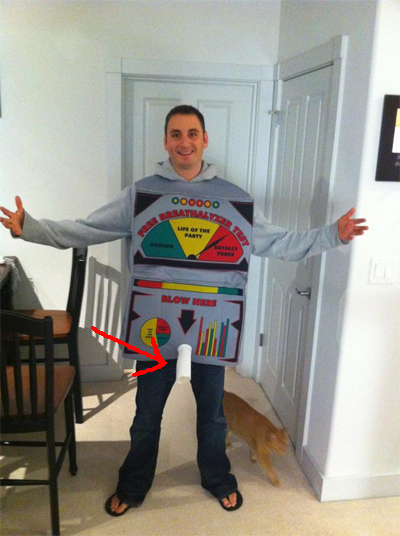 Breathalyzer Halloween Costume