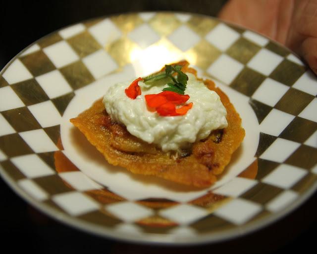 Gluten-free organic appetiser recipes - garbanzo pancakes