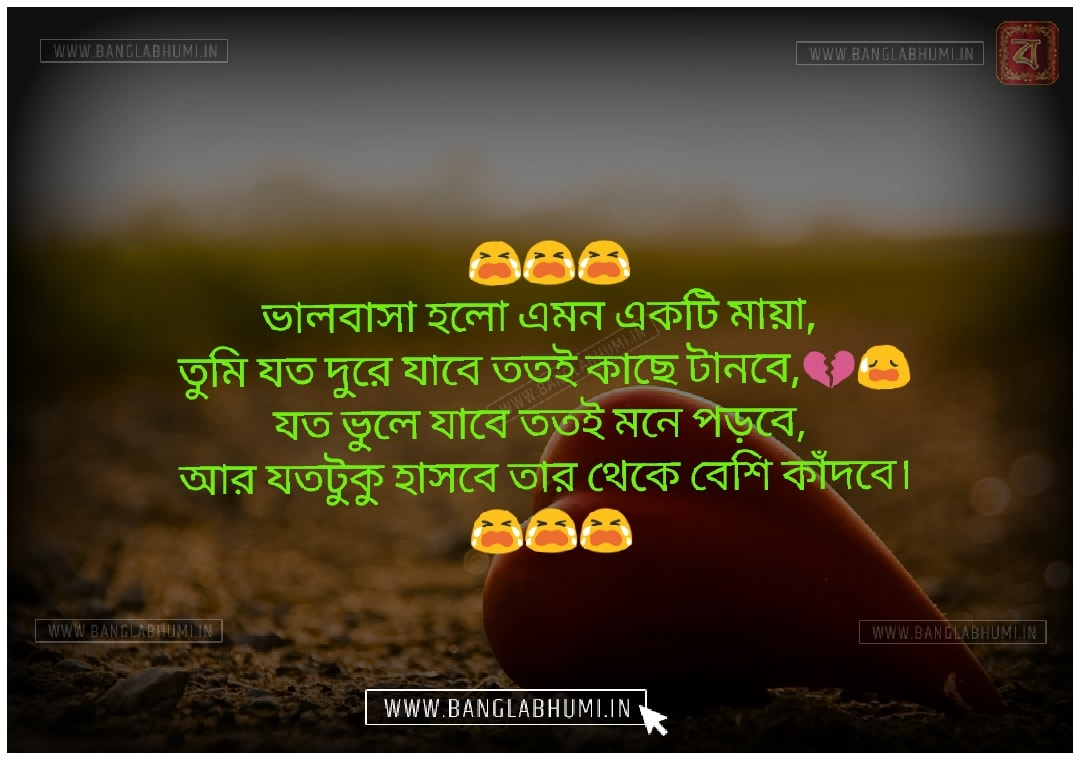 Bangla Facebook Sad Love Shayari Status Free share