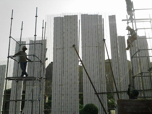 Tường panel 3D beton