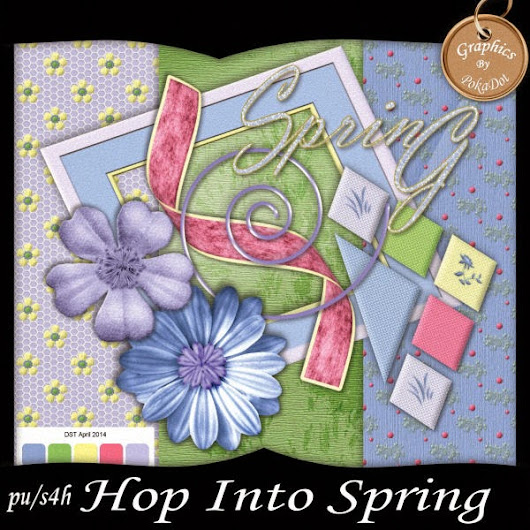DST Hop into Spring Blog Train April 2014