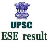 UPSC ESE Result