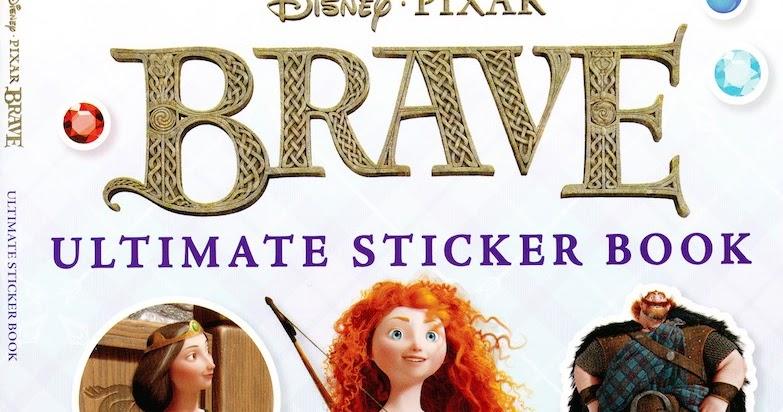 brave ultimate sticker book review pixar post. Black Bedroom Furniture Sets. Home Design Ideas
