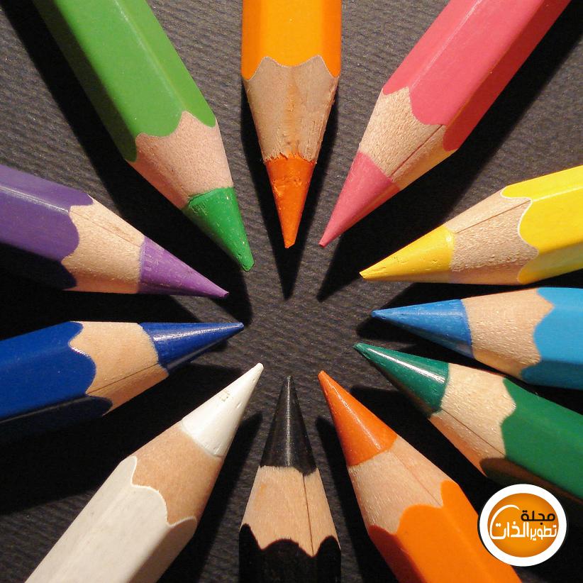 أختر لون القلم المفضل و تعرف على جزء من شخصيتك colorpencils.jpg