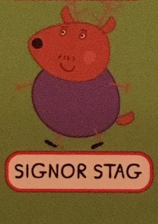 Signor Stag, Peppa Pig Guess Who Game