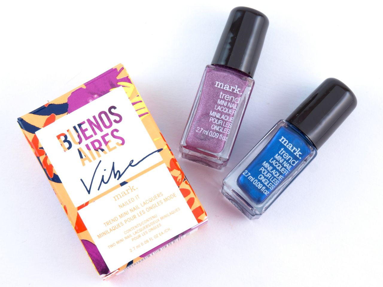 Mark. Buenos Aires Vibe Eau de Toilette & Nailed It Kit: Review and Swatches