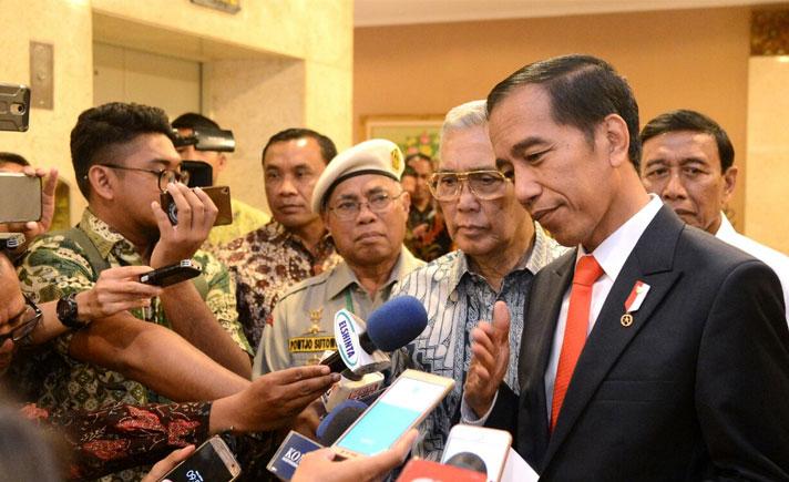 Jokowi Himbau Prabowo Untuk Ikuti Mekanisme Pemilu
