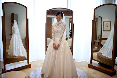 Stefanie Sun wedding dress photos