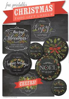 Kit estilo pizarra para Navidad, para Imprimir Gratis.