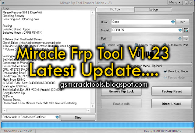 Miracle FRP Tool 1.23 Latest Version Full Setup Download