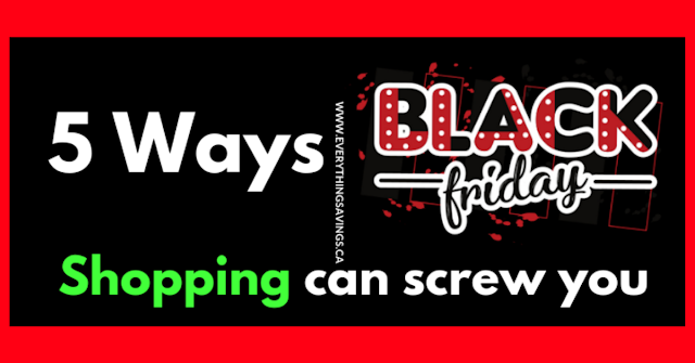 5 Ways Black Friday Shopping Can Screw You
