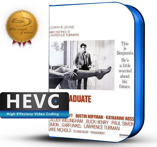 The Graduate (1967) 1080P HEVC-8Bits BDRip Latino/Ingles (Subt.Esp)(Drama)