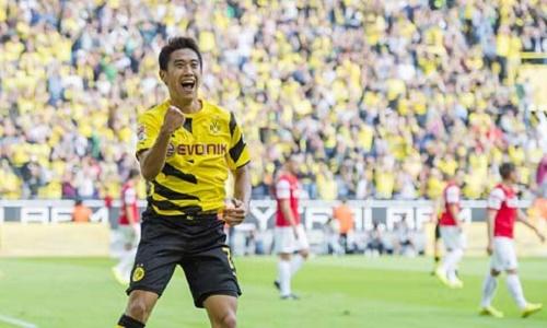 Shinji Kagawa cảm thấy tự hào khi đội bóng cũ và người hâm mộ vẫn chào đón mình
