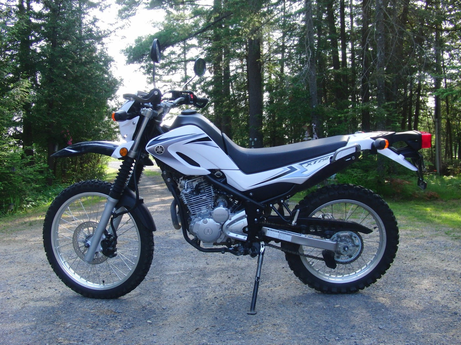 dualsport diary for sale 2008 yamaha xt250