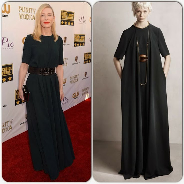 Cate Blanchett in Lanvin – 2014 Critics' Choice Movie Awards