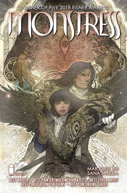 MONSTRESS comic book series