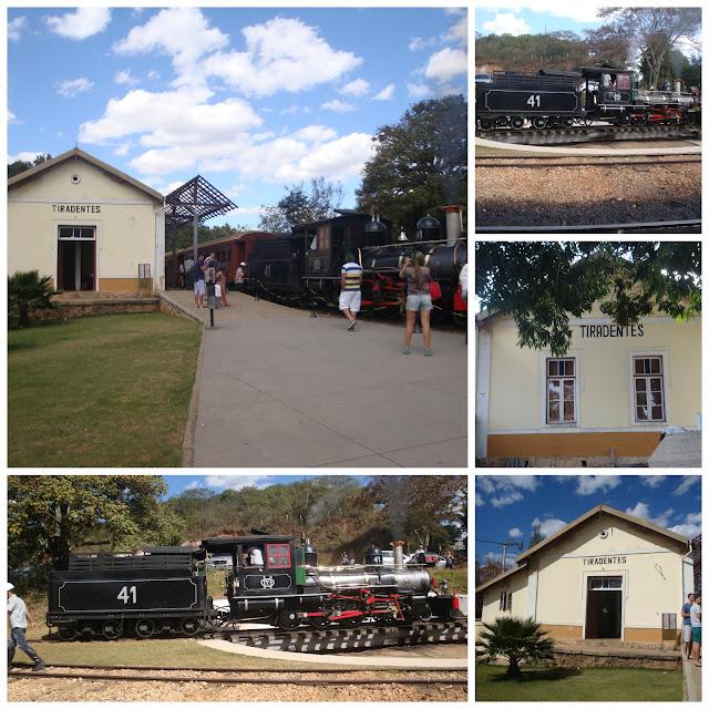 estação de trem de Tiradentes - MG