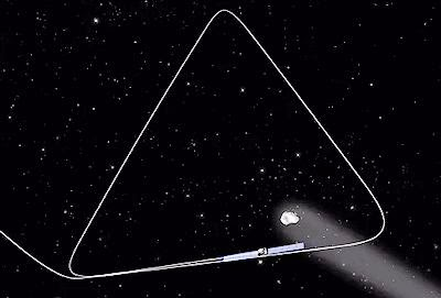Rosetta Spacecraft's Planned Orbit Around Comet