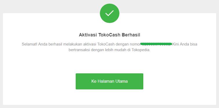 Cara Membuat Akun Tokopedia dan Aktivasi TokoCash Tutorial Membuat Akun Tokopedia dan Aktivasi TokoCash
