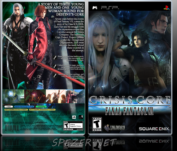 Download Crisis Core Final Fantasy VII PSP PPSSPP ISO CSO Android