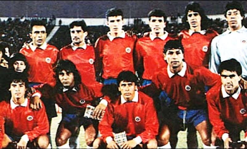 Formación de Chile ante Brasil, Copa Expedito Teixeira, partido de ida