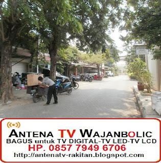 Jual ANTENA TV WAJANBOLIC Kelapa Gading  Jakarta Utara