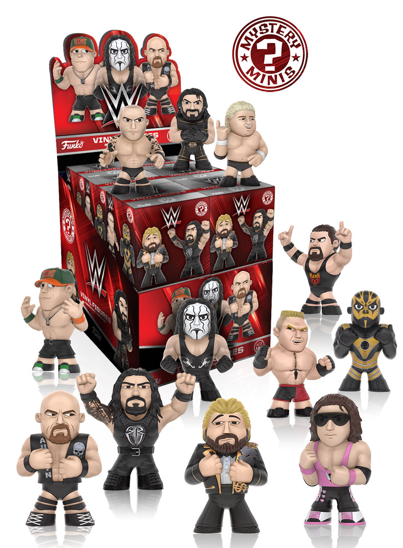 The Blot Says Wwe Mystery Minis Blind Box Series 2 By