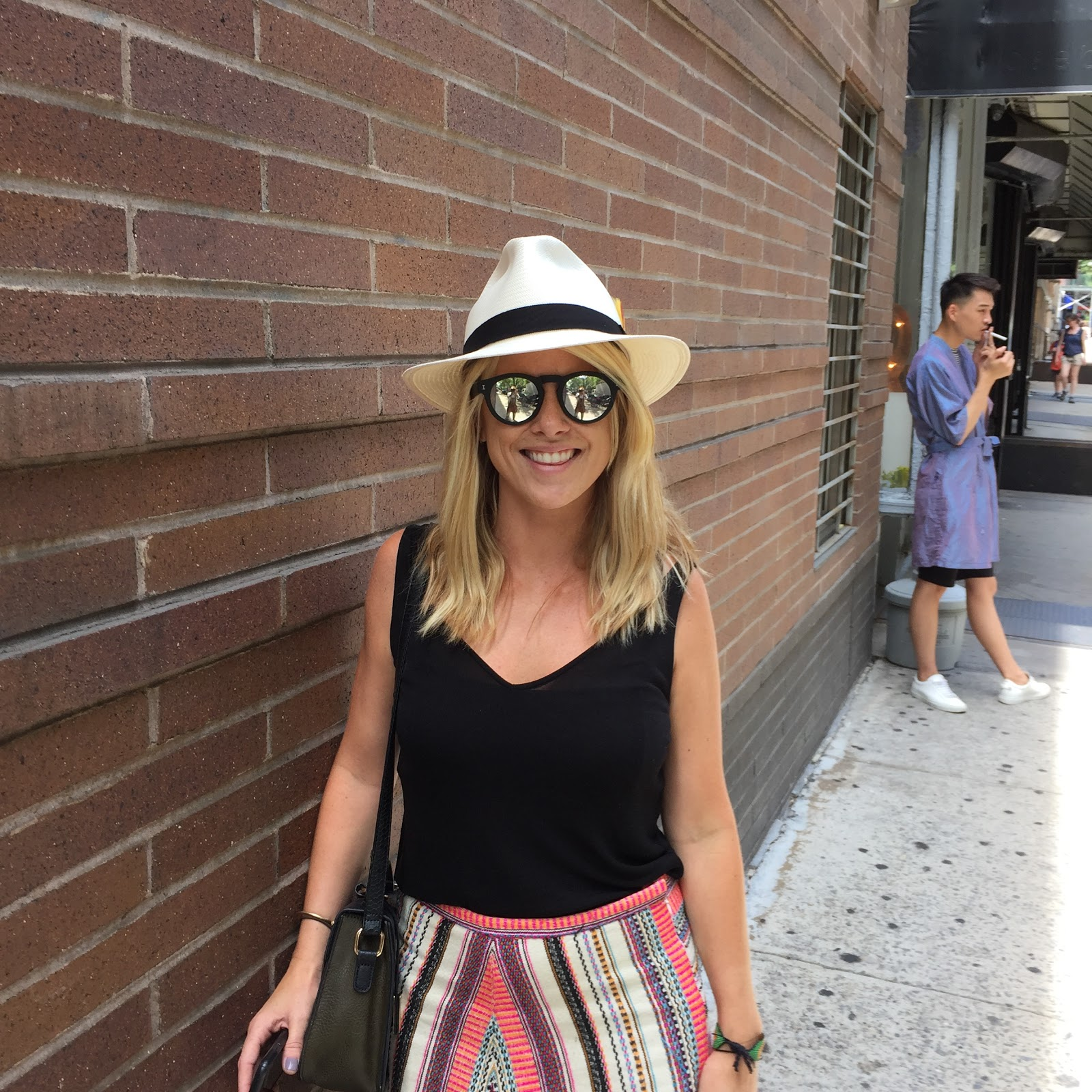 Woman wearing Panama Hat from The Hat House in NYC 3a0135a21cec