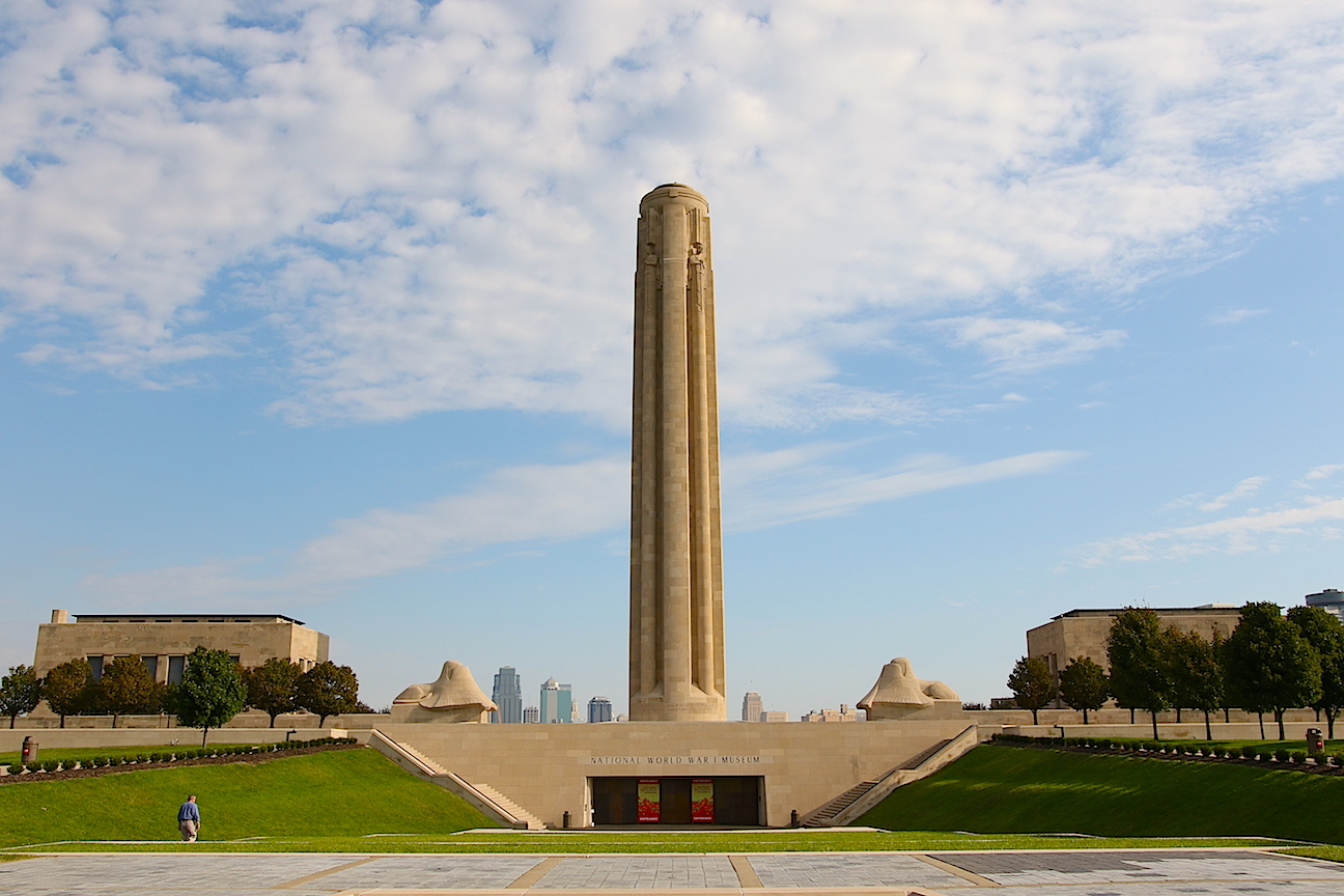 ce64ff9766b801 Kansas City National World War I Museum and view from the top of the  Liberty Memorial Tower