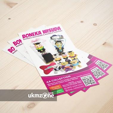 Desain Flyer Untuk UKM Craft AA Collection