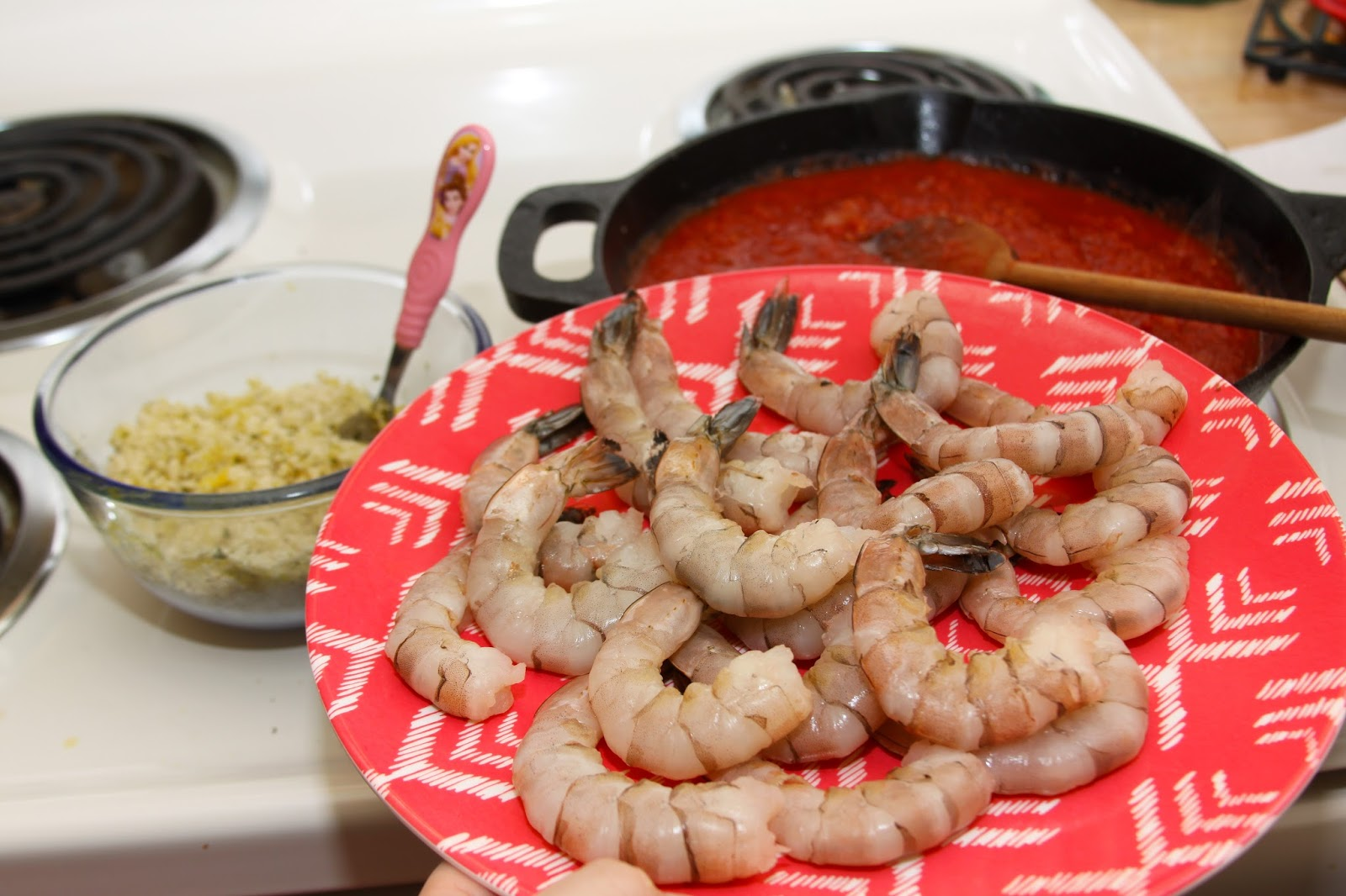 how to cook shrimp in a cast iron skillet