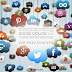 90 Social Clouds Icons by Joe Vains.