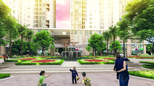 Không gian xanh an lành The K Park