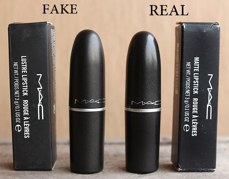 Real VS Fake Mac Cosmetics Products: How to spot fake MAC products ...