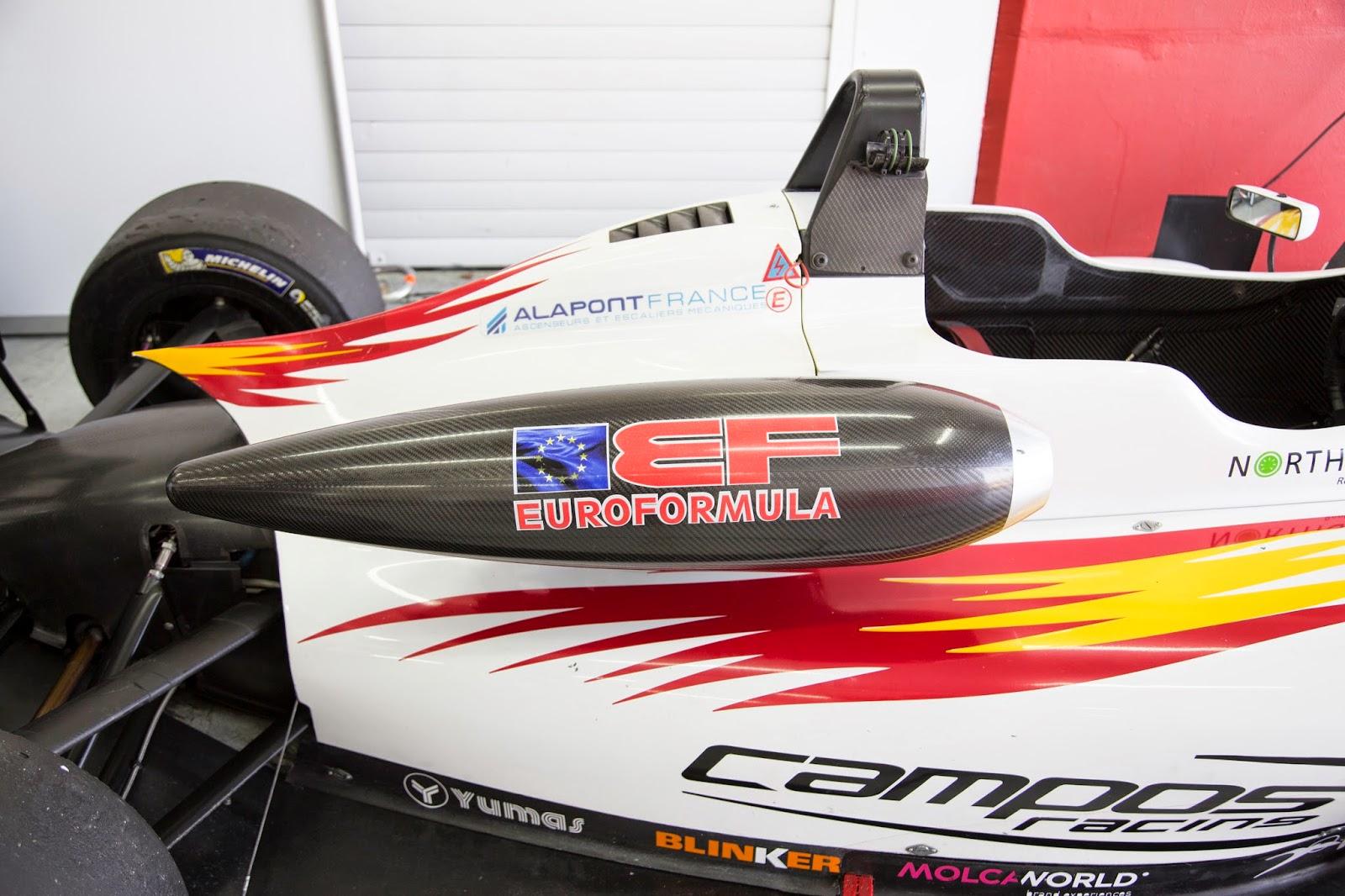 EuroFormula Open, Campos Racing, Valencia, Cheste