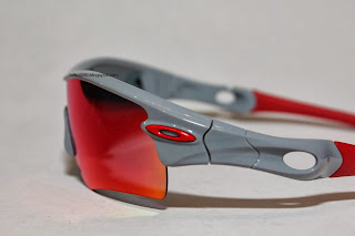 oakley Radar Polished Fog frame with Positive Red Iridium lense 2d654c86ae