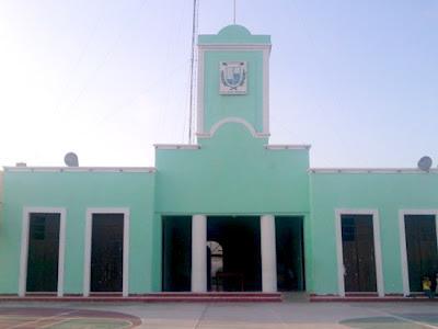 Palacio Municipal Telchac Puerto Yucatan