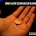 Truco de Magia: Cómo hacer desaparecer una moneda de tu mano
