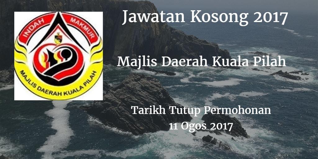 Jawatan Kosong MDKP 11 Ogos 2017