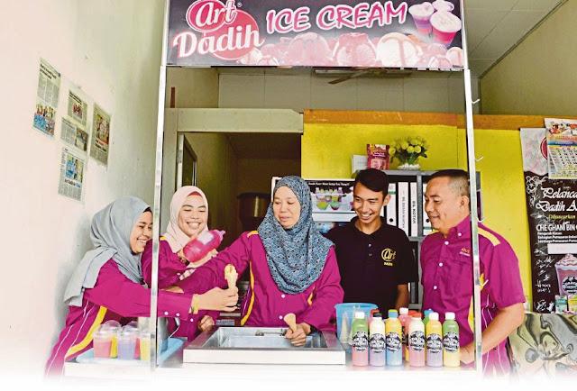 Art Dadih Ice Cream Sasar 20 Francaisi Pada Tahun 2018