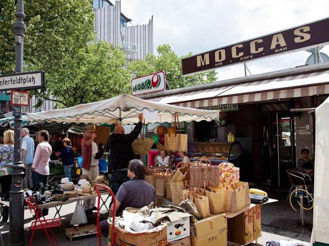 Markt am Winterfeldtplatz em Berlim