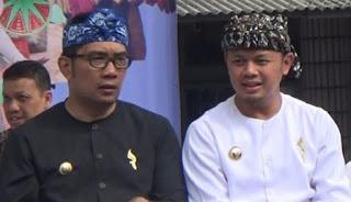 Ridwan Kamil-Bima Arya Siap Berpasangan di Pilgub Jabar 2018