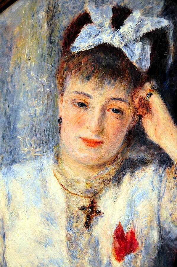 Portrait Of Mademoiselle Demarsy Painting by Pierre ... |Renoir Portraits