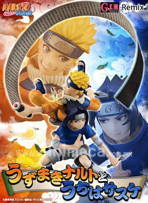 Figura Naruto Uzumaki to Sasuke Uchiha G.E.M. Remix Edición Limitada Naruto Shippuden
