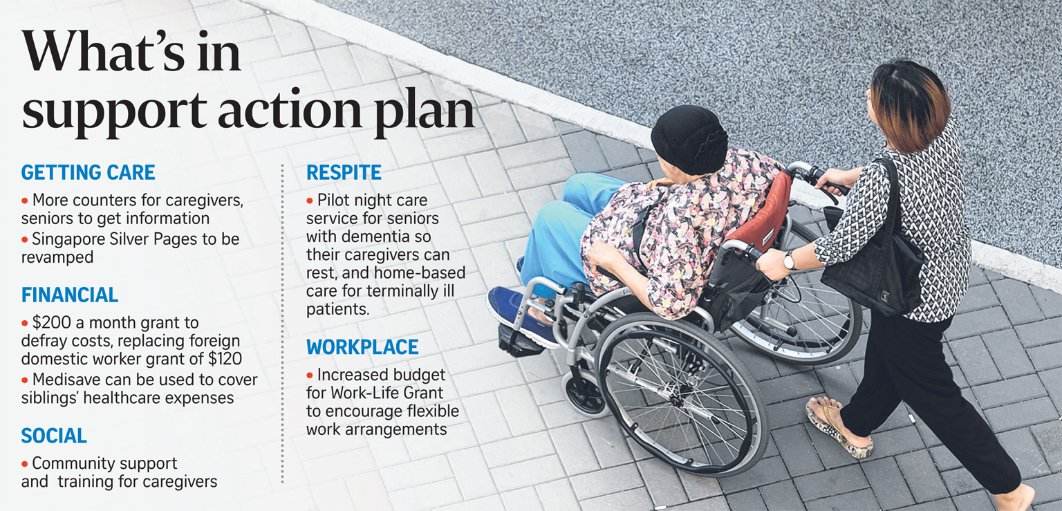 If Only Singaporeans Stopped to Think: Caregiver Support
