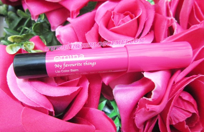 Emina My Fav Things Lip Color Balm (Shoppaholic Queen)