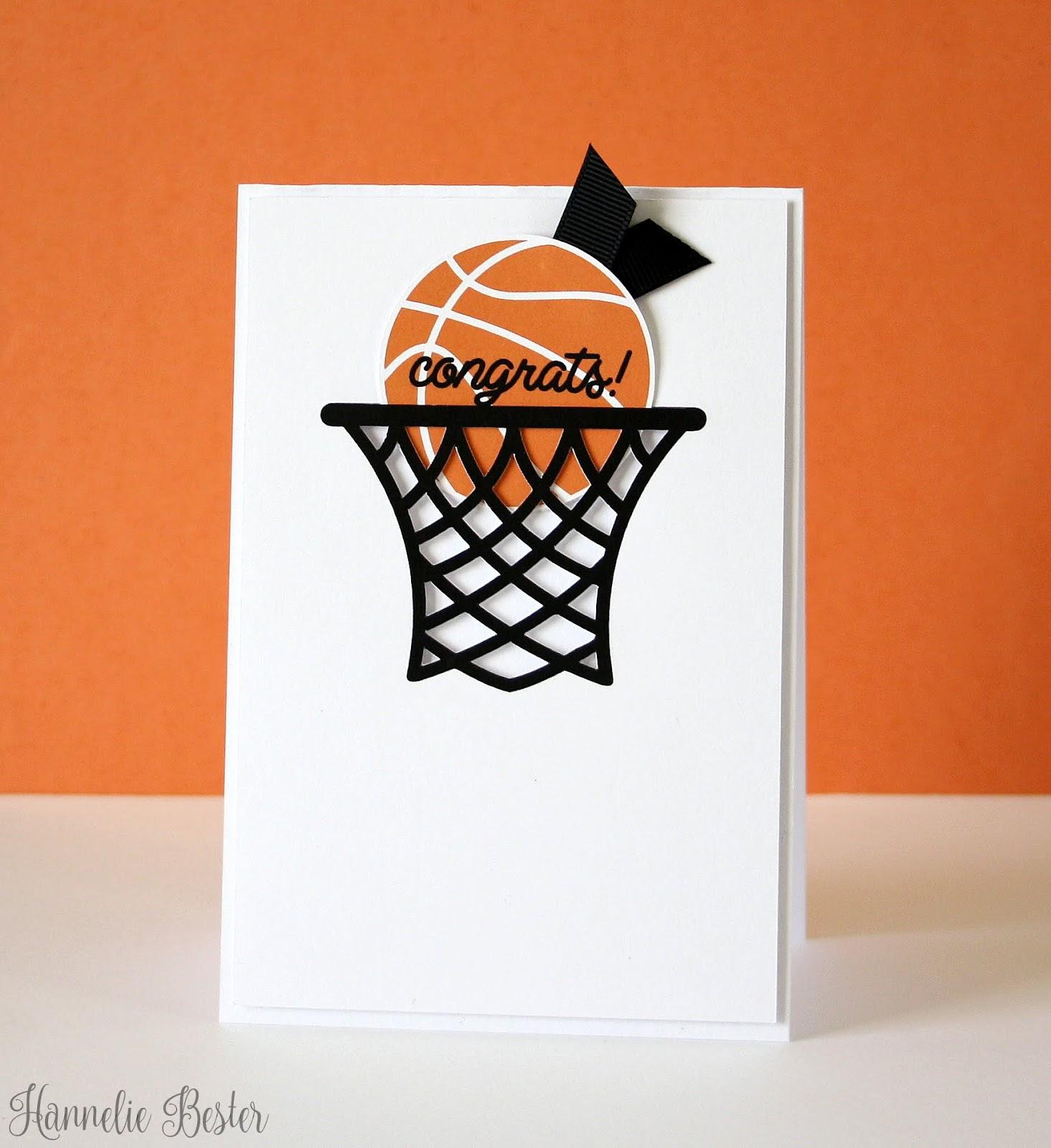 Бумаги открытку, открытка баскетбол