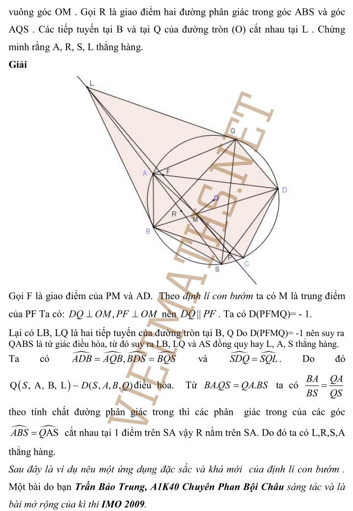 tìm hiểu về định lý con bướm phần 8