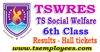 Tswreis 6th Class Entrance Test Results 2017 Hall tickets Social Welfare Residential Schools Common Entrance Test 2017